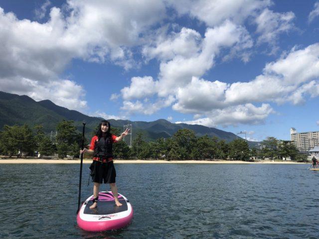 琵琶湖サップ